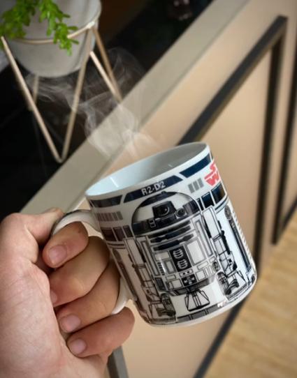 Caneca Droid R2-D2: Star Wars 350ml