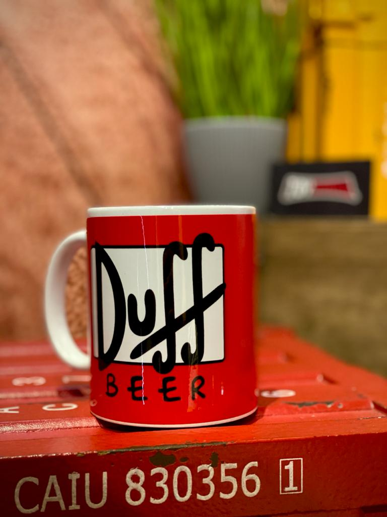 Caneca Duff Beer: Simpsons - (325ML)