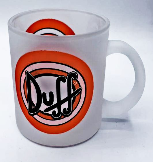 Caneca Duff Beer: Simpsons (Transparente) - (325ML)