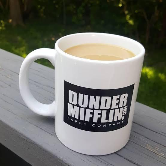 Caneca: '' Dunder Mifflin Inc Paper Company '' The Office