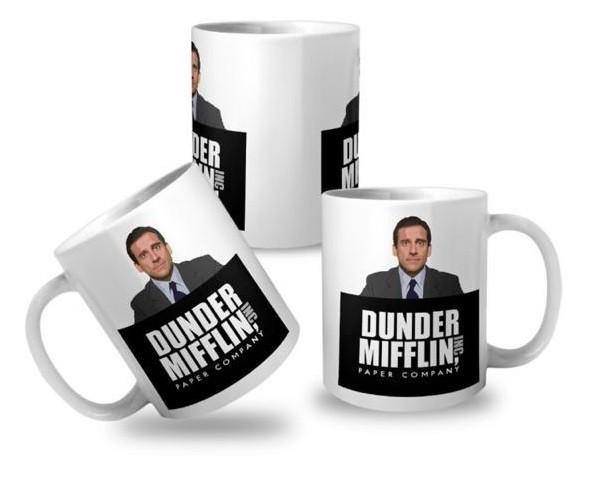 Caneca: '' Dunder Mifflin Inc Paper Company '' The Office ( Michael Scott )