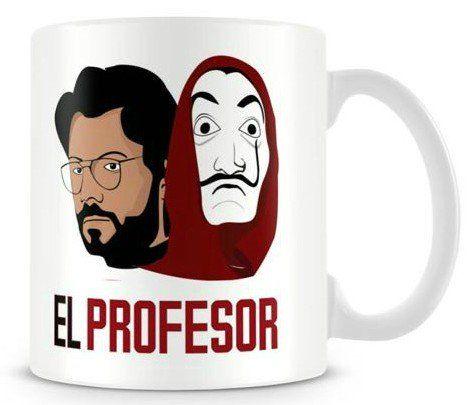 Caneca El Profesor: La Casa De Papel