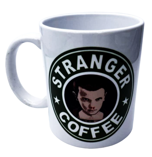 Caneca Eleven Stranger Coffee: Stranger Things