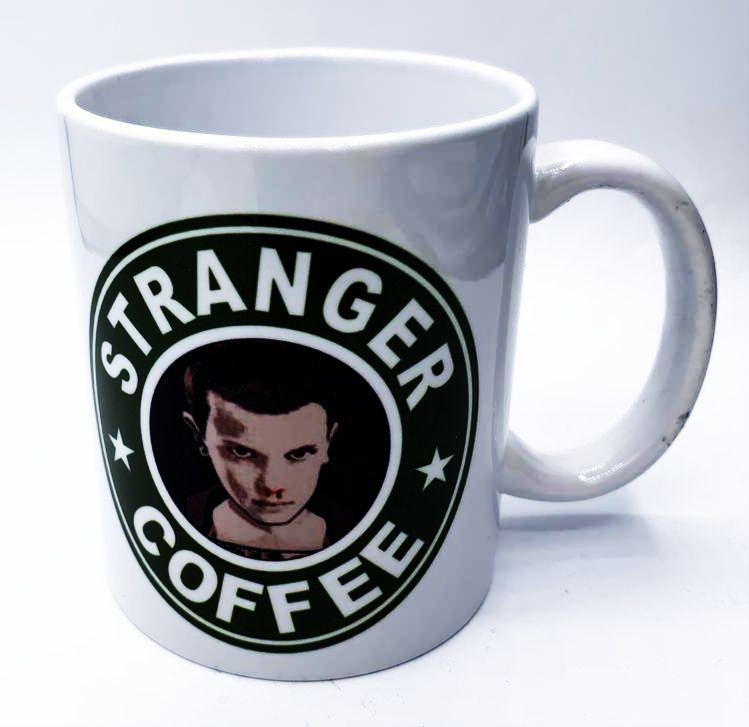 Caneca Eleven Stranger Coffee: Stranger Things