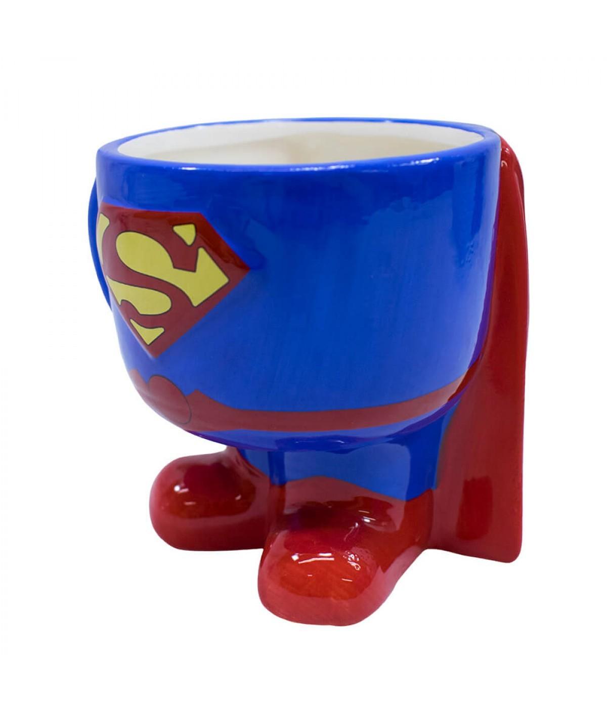 Caneca enfeite de Porcelana Superman DC Super Friends: DC Comics