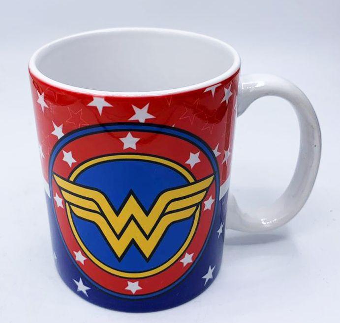Caneca Escudo Mulher-Maravilha (Wonder Woman): DC Comics