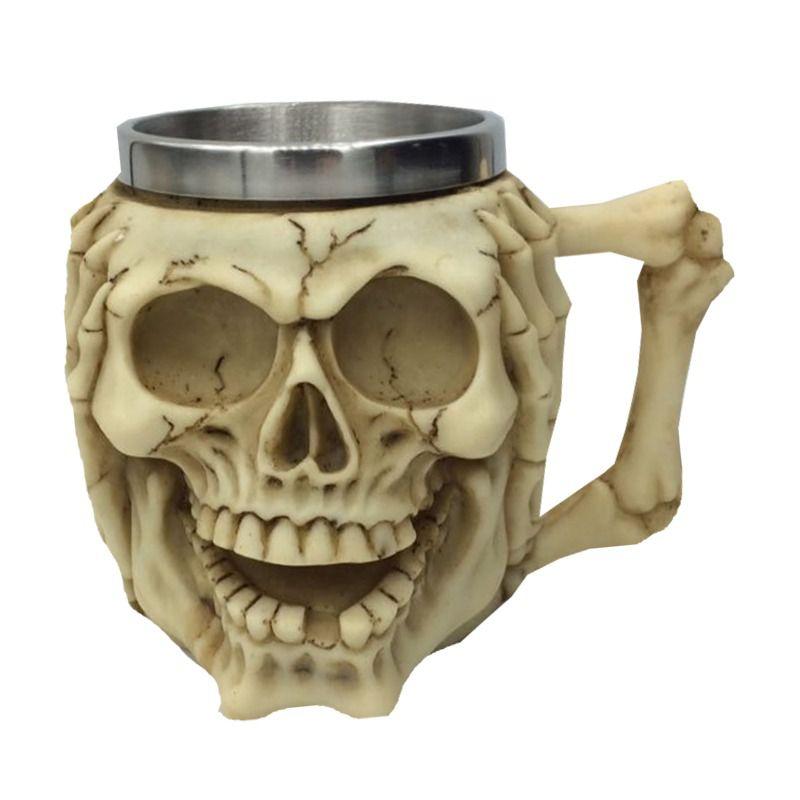 Caneca Esqueleto Caveira (Não Escuto)