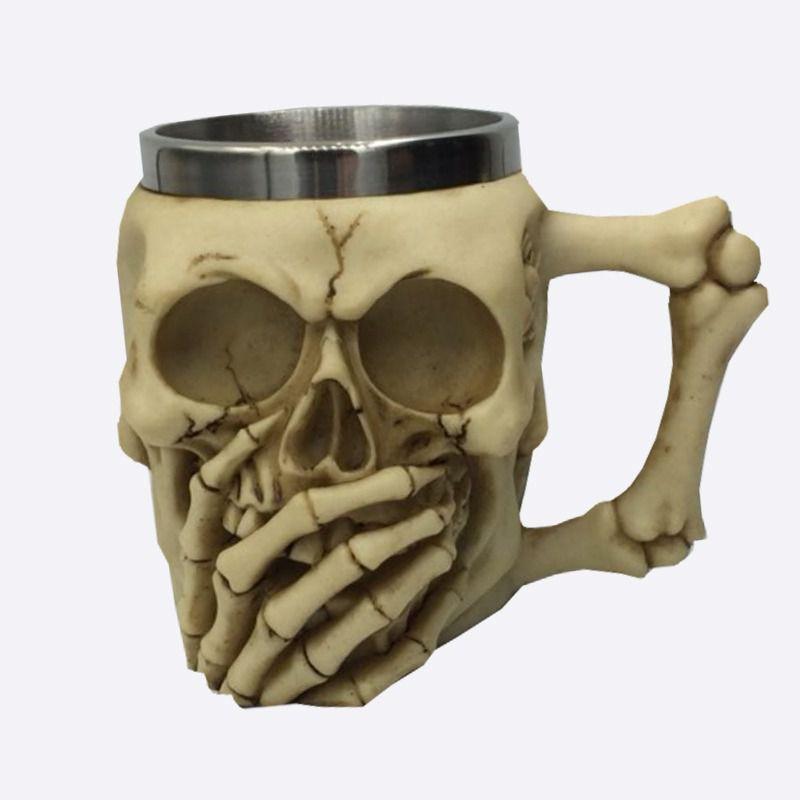 Caneca Esqueleto Caveira (Não Falo)