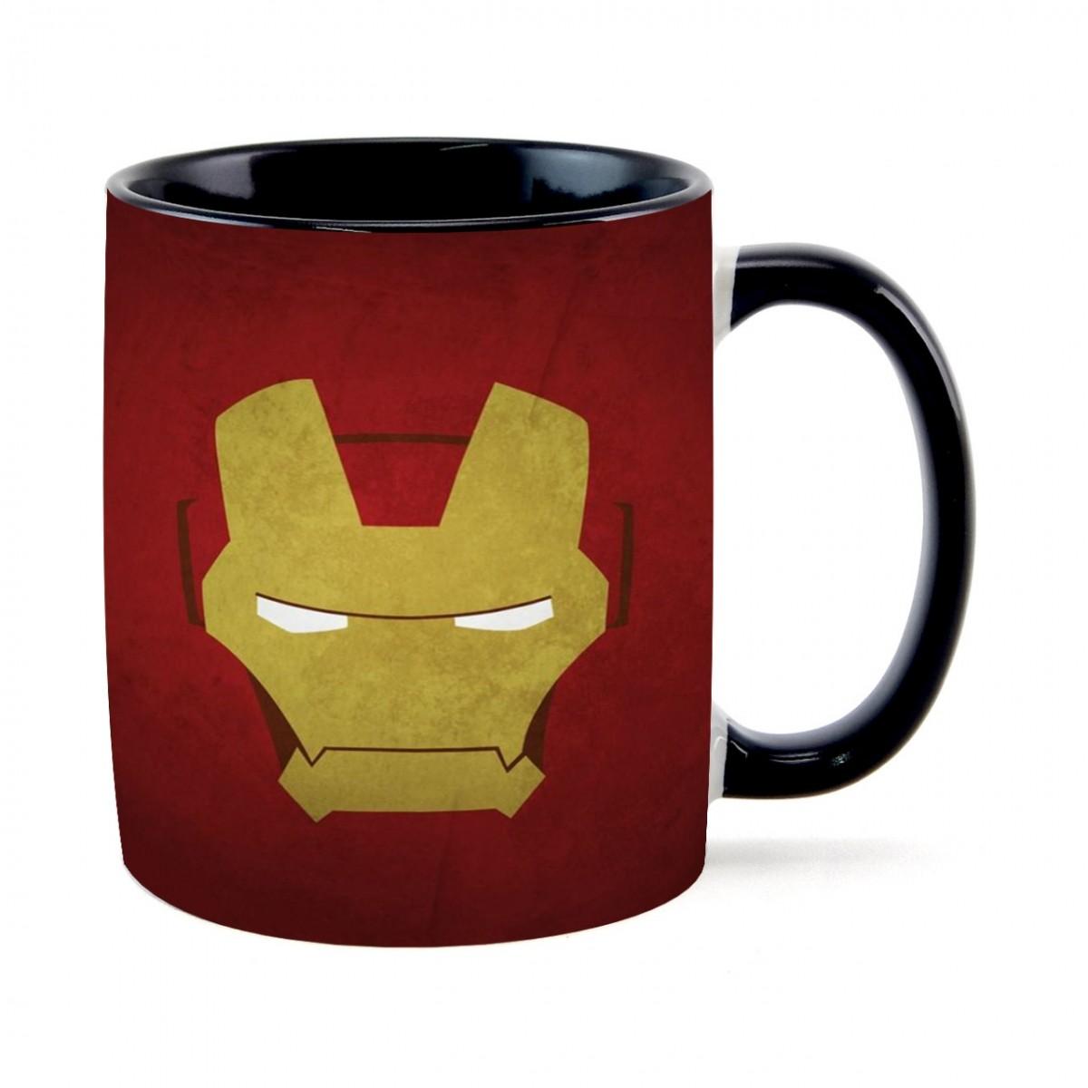 Caneca Face Homem de Ferro (Iron Man)