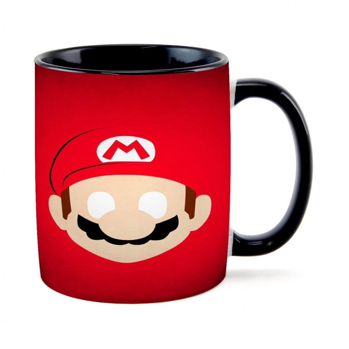 Caneca Face Mario