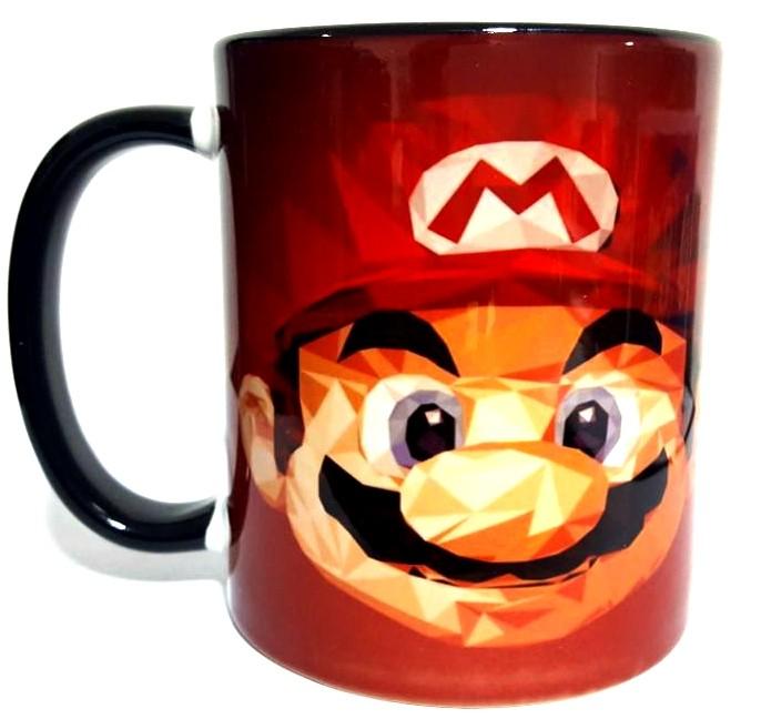 Caneca Face Mario de Pixels