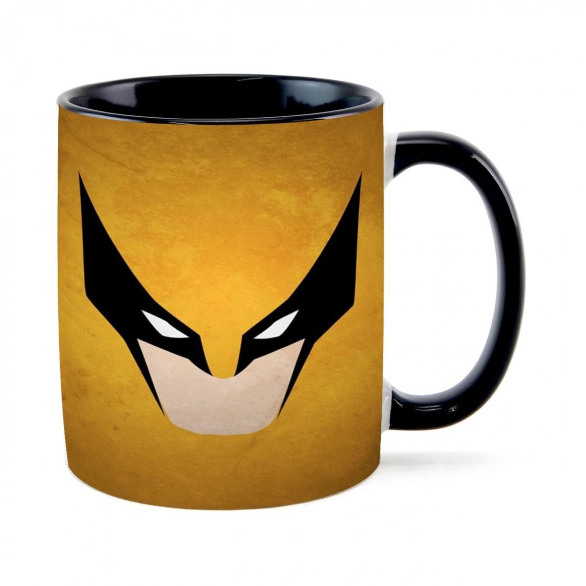Caneca Face Wolverine