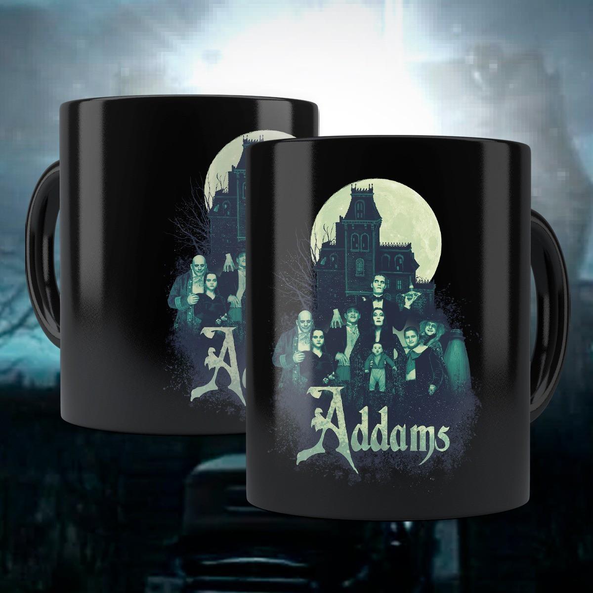 Caneca Família Addams