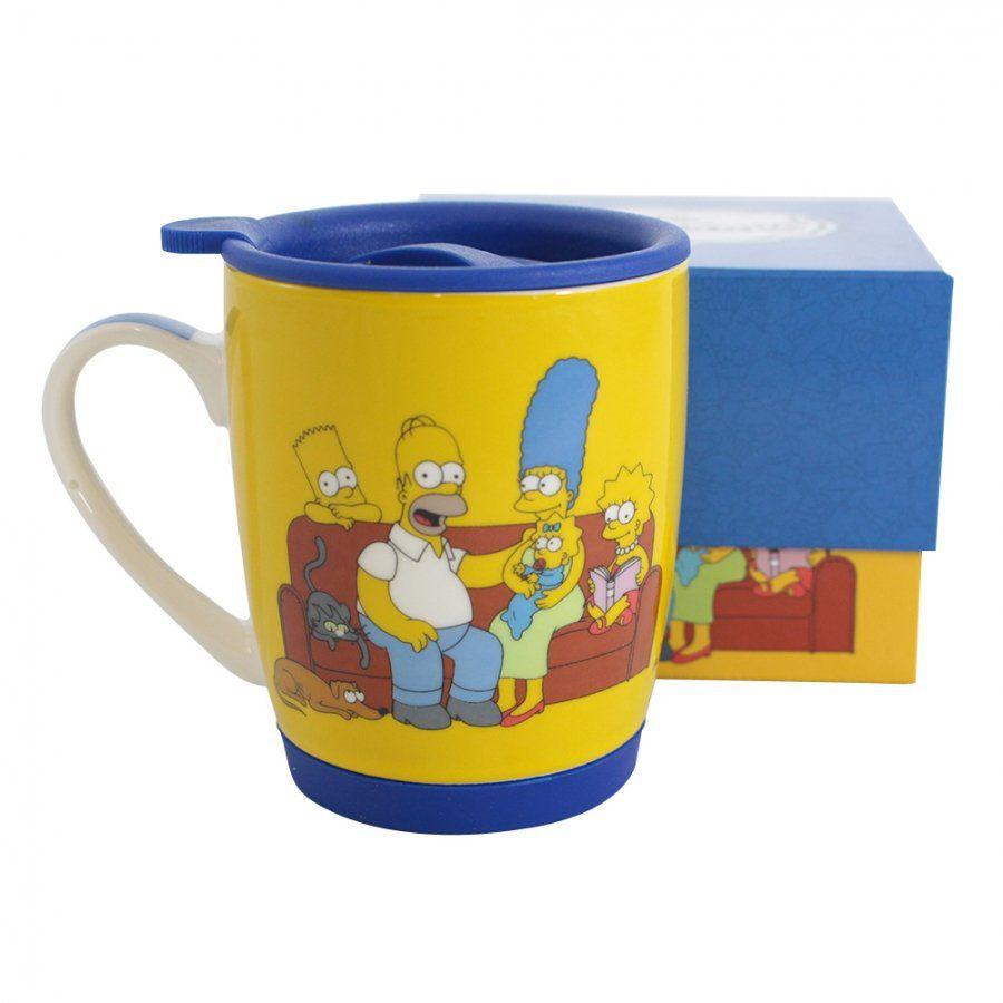 Caneca Família Simpson: Os Simpsons - (350ML)