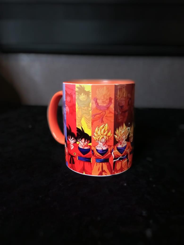 Caneca Fases Goku: Dragon Ball
