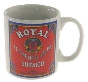 Caneca Fermento em  Pó Royal