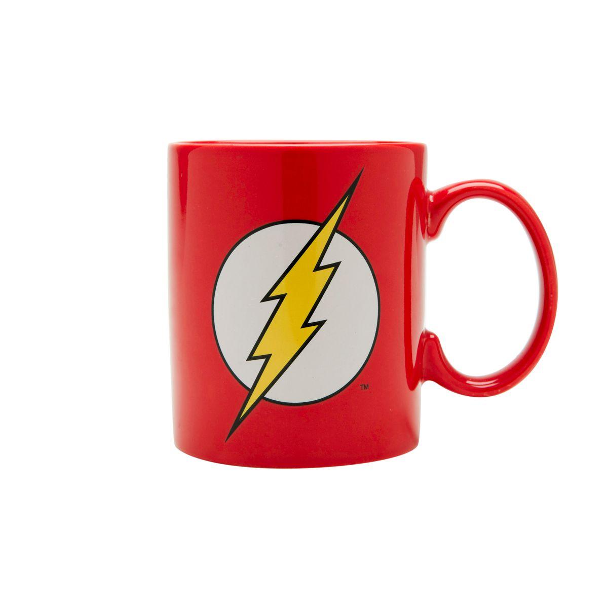Caneca Flash: Liga da Justiça (Justice League) DC Comics (300ml) - Urban