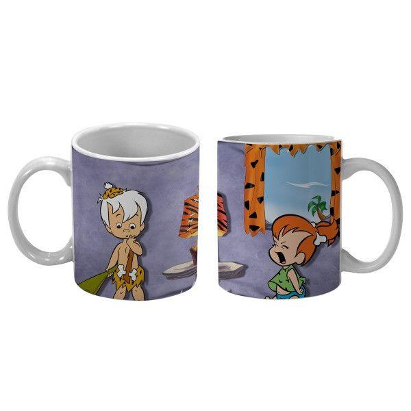 Caneca Flintstones : Pedrita e Bambam - Urban