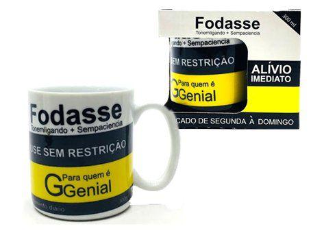 Caneca Fodasse - (300ML)