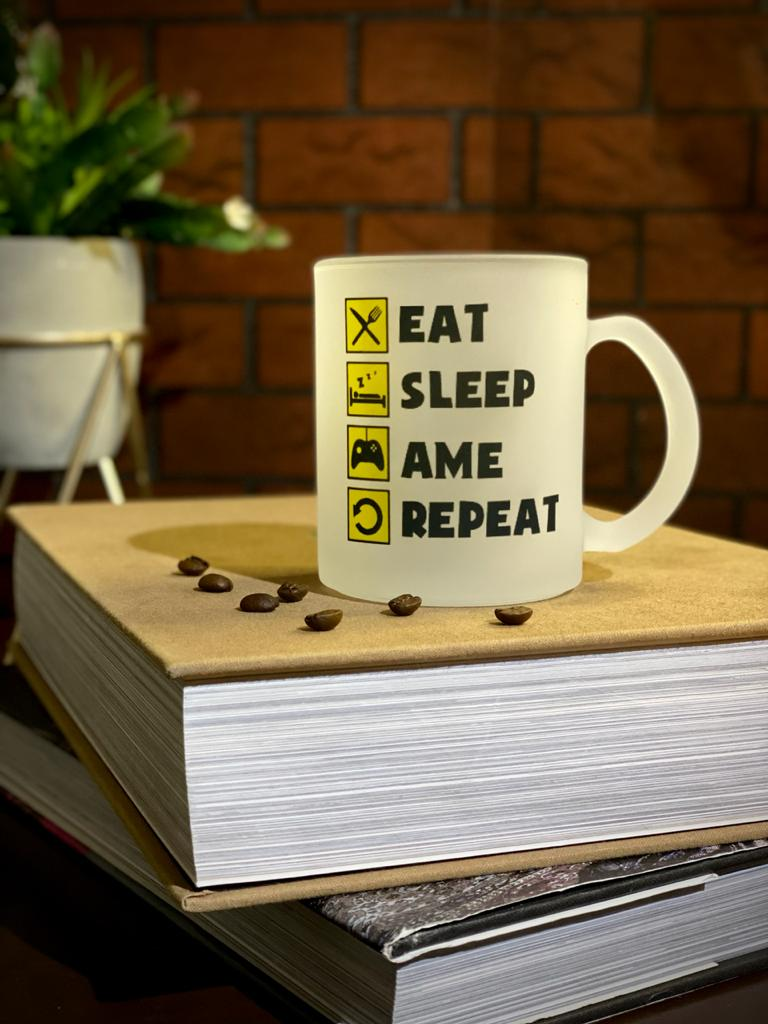 Caneca Fosca ''Eat, Sleep, Ame e Repeat'' - EV