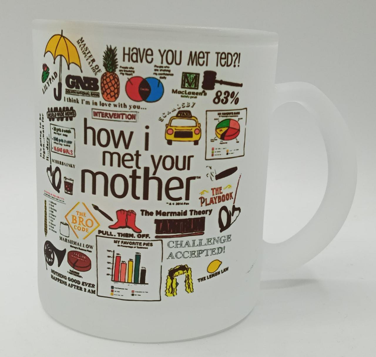 Caneca Fosca ''How i Met Your Mother''