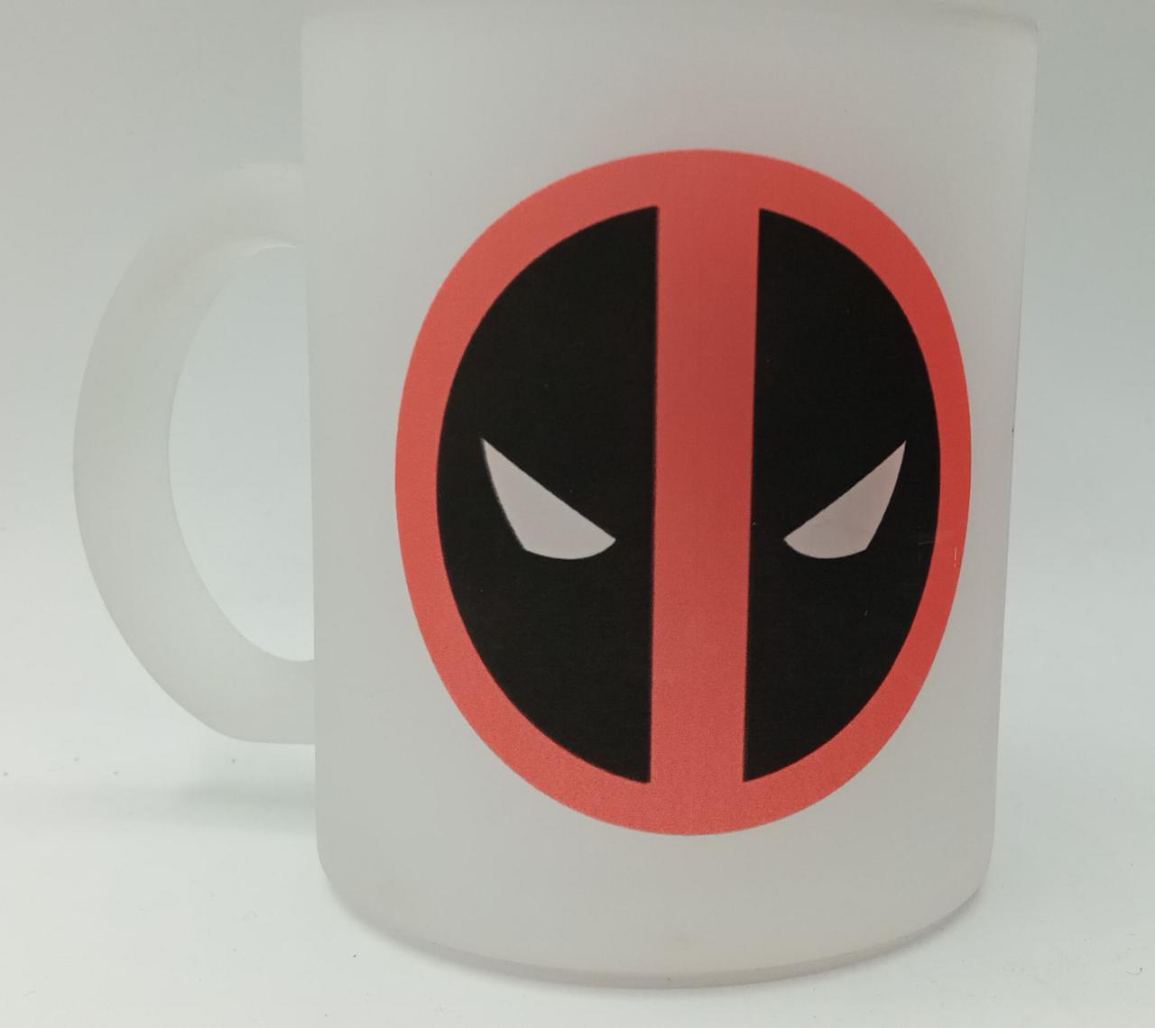 Caneca Fosca Logo: Deadpool - Marvel