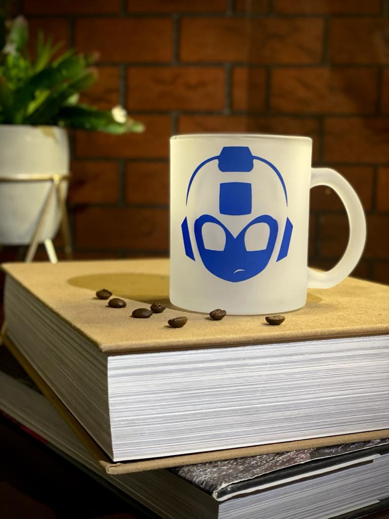 Caneca Fosca Mega Man