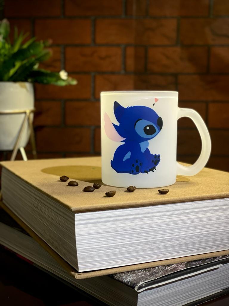 Caneca Fosca Stitch - Lilo e Stitch
