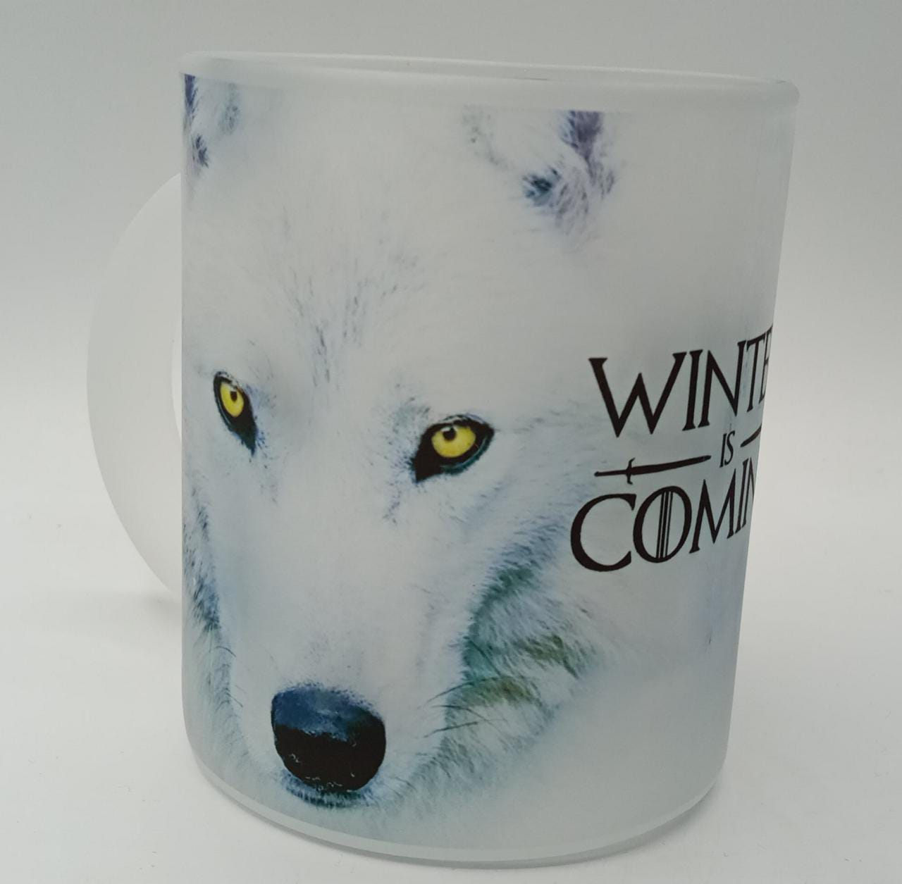 Caneca Fosca ''The Winter Is Comming'' - Lobo