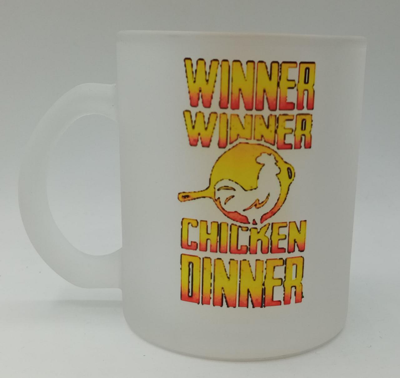 Caneca Fosca ''Winner, Winner, Chicken, Dinner''