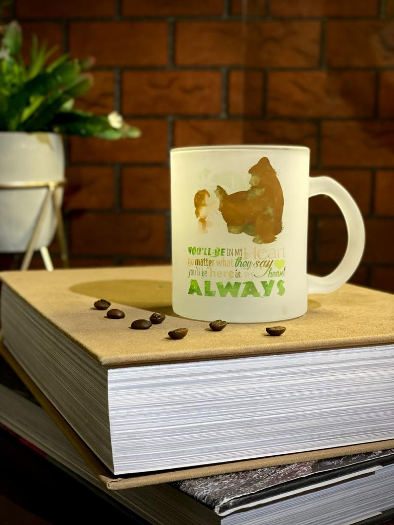 Caneca Fosca You'll Be In My Heart No Matter What They Say You'll Be Here In My Heart Always - Tarzan