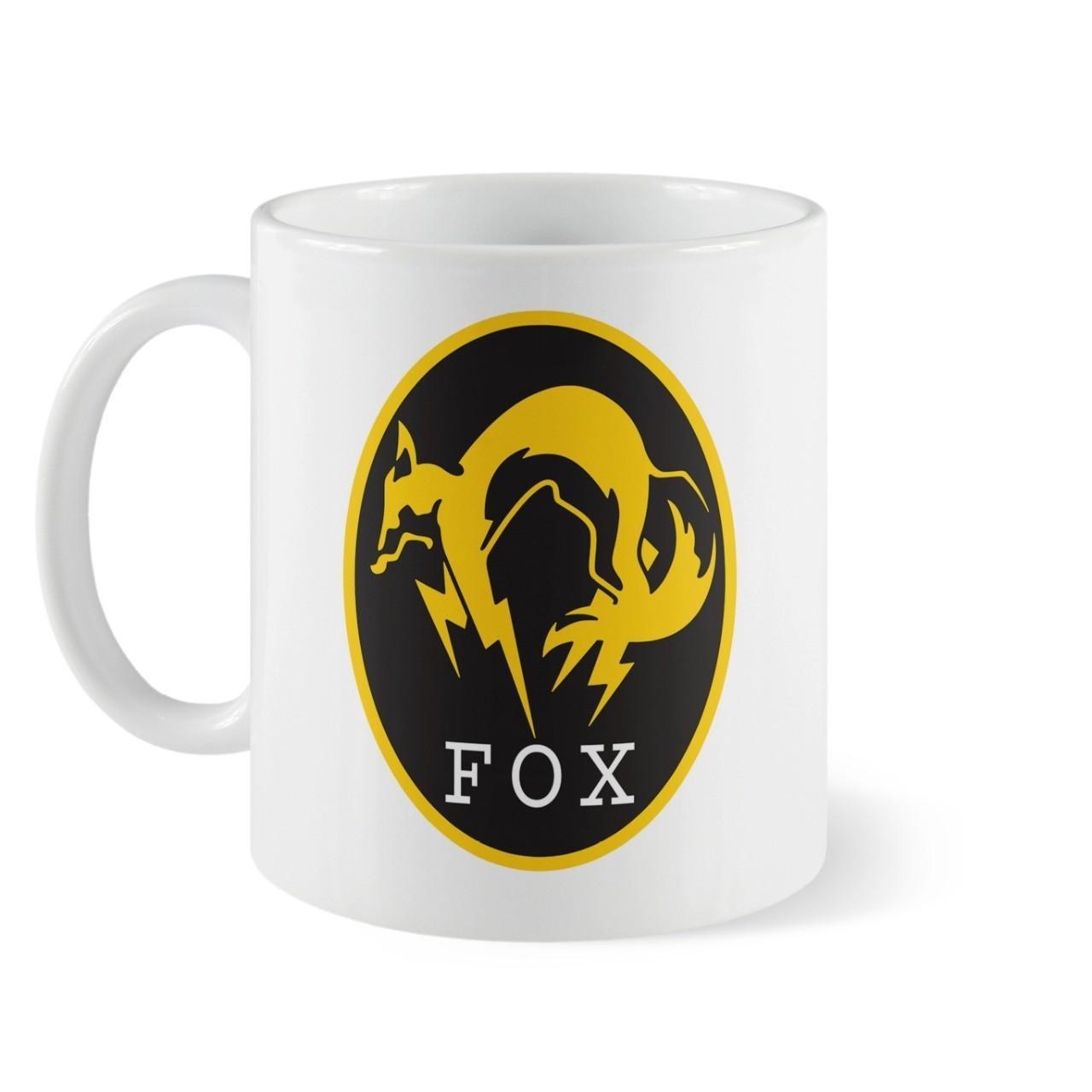 Caneca Fox - Metal Gear Solid