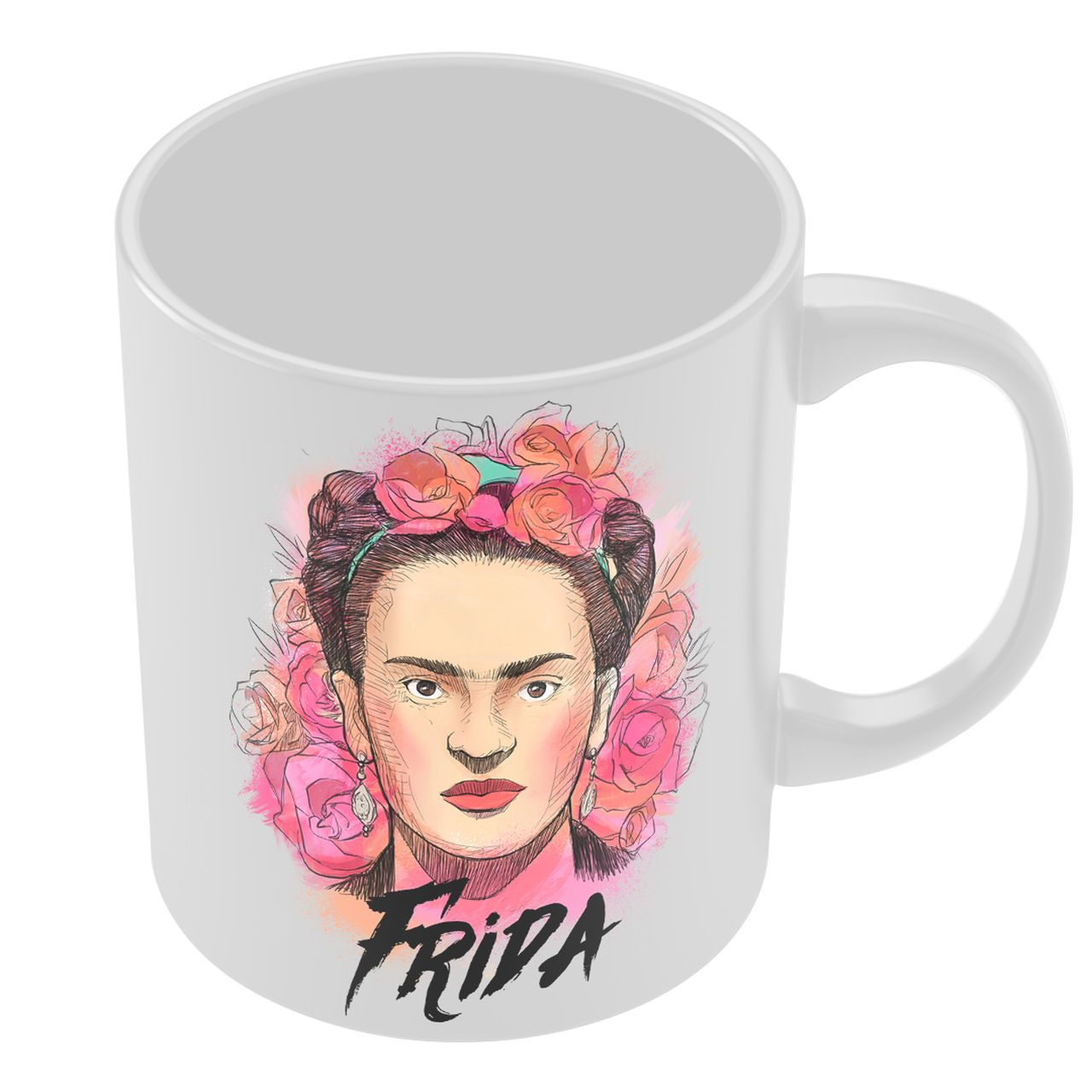 Caneca Frida: Frida Kahlo - Exclusiva ToyShow