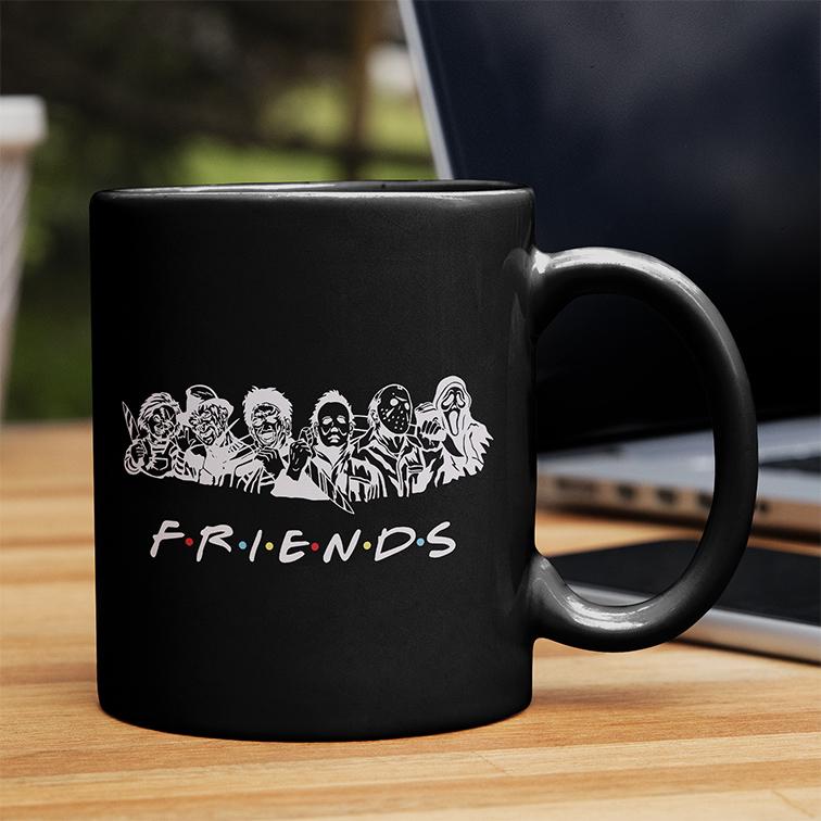 Caneca Friends Halloween Horror (Preta) - EV