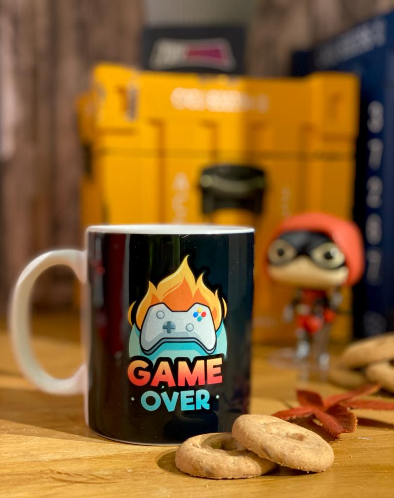 Caneca: ''Game Over''
