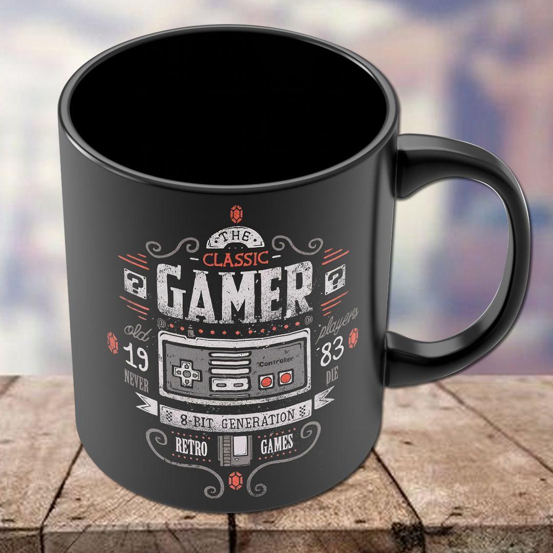 Caneca Controle Gamer 8 - Bit Generation Super Nintendo - EV