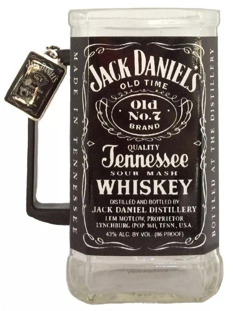 Caneca Garrafa de Jack Daniel's