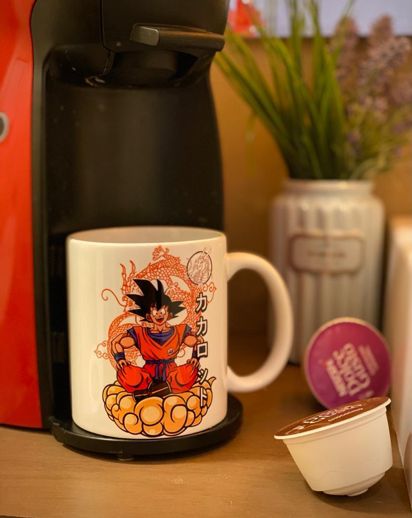 Caneca: '' Goku