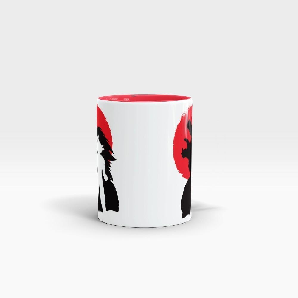Caneca Goku Oozaru: Dragon Ball Z Branca e Vermelha - EV