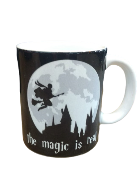 Caneca Harry Potter The Magic is Real