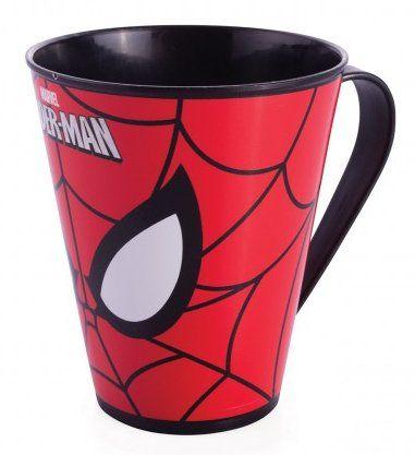 Caneca Homem-Aranha: Marvel (360 ml) - Plasutil