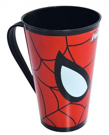 Caneca Homem-Aranha: Marvel (500 ml) - Plasutil