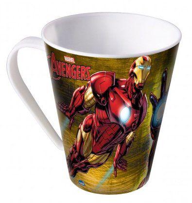 Caneca Homem de Ferro: Avengers (360 ml) - Plasutil