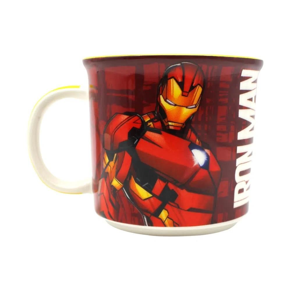 Caneca Homem de Ferro: Marvel (Tie Die)