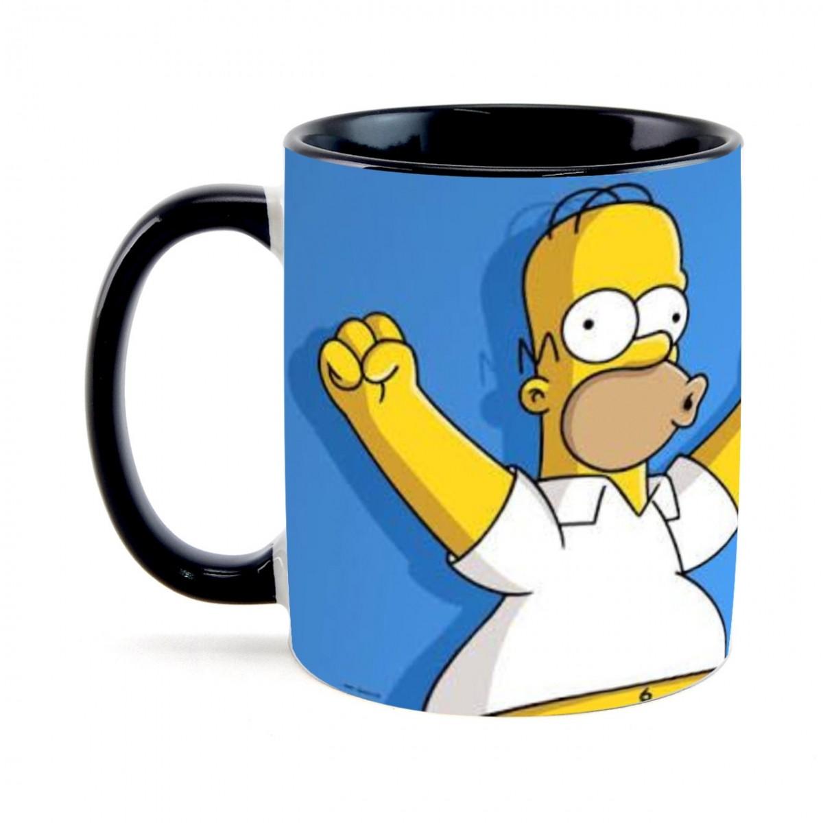 Caneca Homer: Os Simpsons