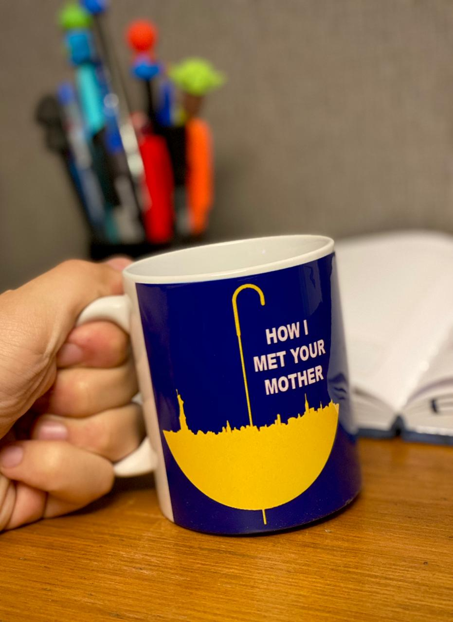 Caneca: How I Met Your Mother