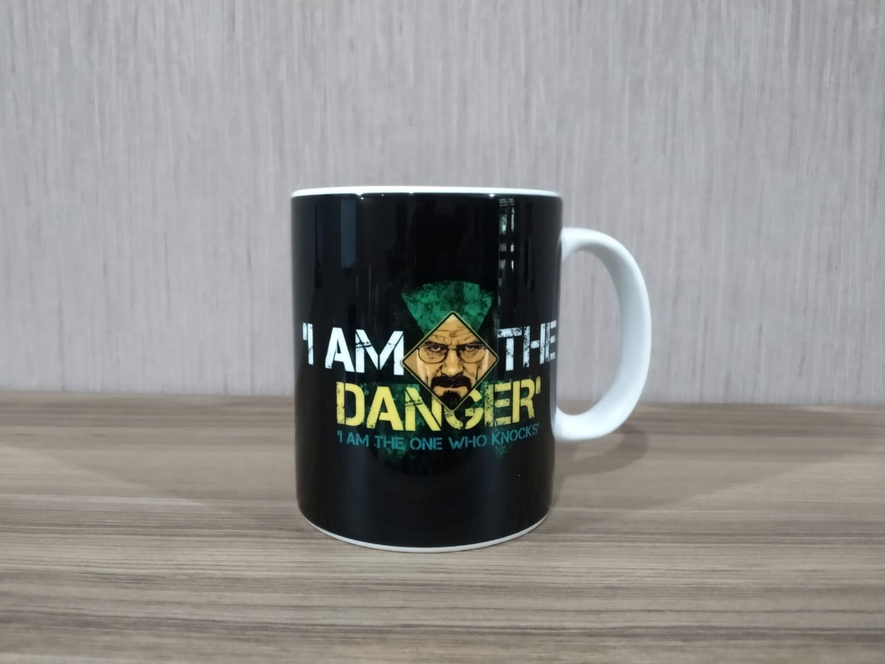 Caneca: ''I Am The Danger'' - Breaking Bad