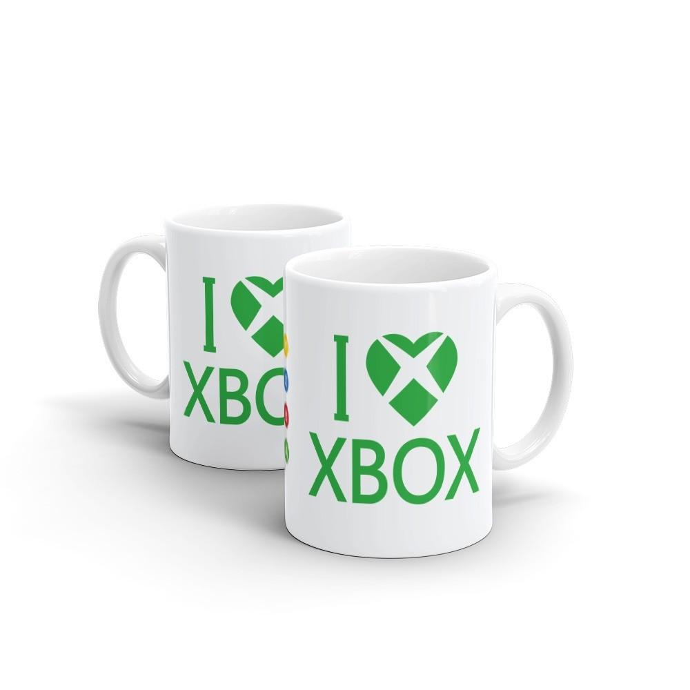Caneca I Love Xbox (Branca) - EV