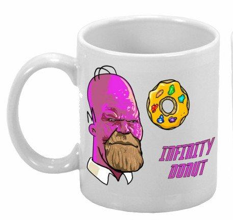 Caneca: Infinity Donut ''Thanos'' - Marvel