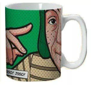 Caneca Isso! Isso! Isso!: Chaves - (300ML)